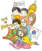 現地大学生ガイドによる韓国旅行