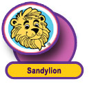 Sandylion Sticker Designs