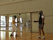 Fencing 関西学連ハンガリー遠征
