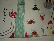 子供の頃に描いた絵