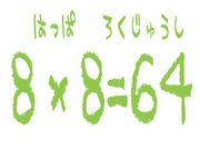 8*8=64(1971年8月8日がbirthday)