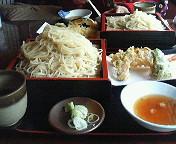 大人は昼間から蕎麦と日本酒の会