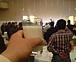 牛乳で乾杯!!