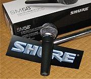 SHURE マイクロフォン LOVE