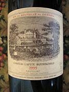 【ワイン】Lafite Rothschild