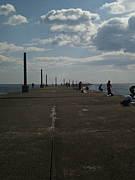 仙台新港、南防波堤での釣り結果