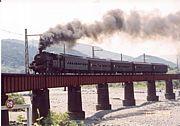 蒸気機関車(SL)と沿線情報