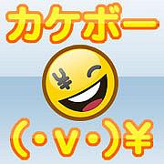 カケボー(・v・)¥