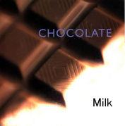 牛乳にチョコレート
