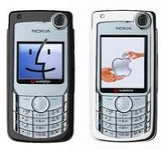 MacとNOKIA6680(V702NK2)