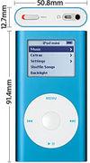 iPod mini [BLUE]