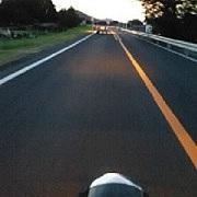 【バイク】早朝ツーリング