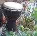 多摩川で太鼓をたたく!