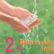 1983年7月生まれ★☆2日の部★☆