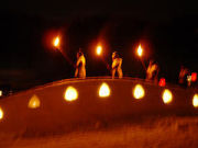 まんだらの里雪の芸術祭2007