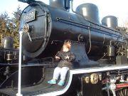 蒸気機関車と遊べる公園
