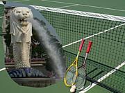 ソフトテニス in シンガポール☆