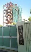 英明タワー建設中