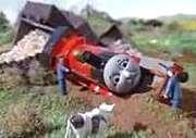 機関車トーマスは脱線が醍醐味