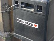 KIDS NEED LOVE.