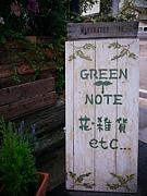 GREEN NOTE Fika