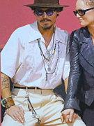 ジョニー・デップの私服が素敵