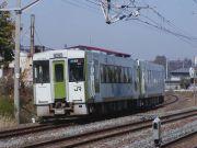 新津6時15分発酒田行き普通列車