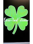 """four-leaf clover"""