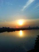 淀川を自転車で疾走!!