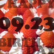 9月23日生まれだ。