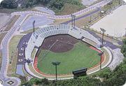 高校野球の予選もない硬式野球場
