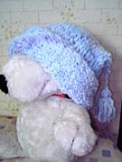 手編みのニット帽好き