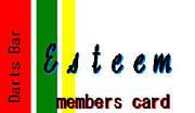 Darts Bar Esteem