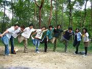 Team D in Sengari