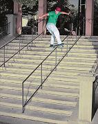 skate board trick批評
