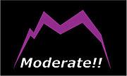 『moderate』
