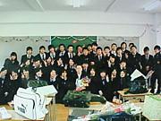 大阪学芸3年2組大橋学級