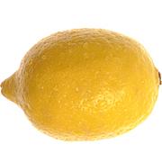 レモンでリンスする。