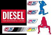 DIESEL&55DSLスナップ