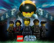 "LEGO AlphaTeam :Mission""mixi"""