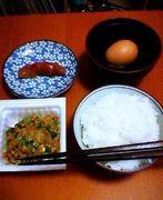 納豆+明太子+卵=(゚д゚)ウマー