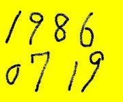 1986年7月19日生まれ!