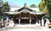 東京のへそ☆大宮八幡宮