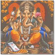 ガネーシャ。 ヒンズーの神々