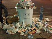 お祭りからゴミを減らしたい