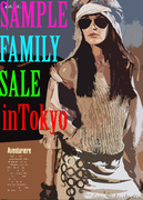 SAMPLE��FAMILY��SALE!! inTokyo