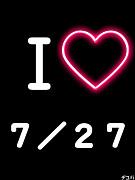 ☆7月27日=記念日☆