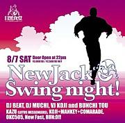 "New Jack Swing Night = ""NJSN"""