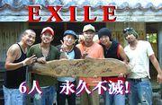 EXILEの6人は永久に不滅!!