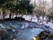 ロマンチックな温泉と癒し空間
